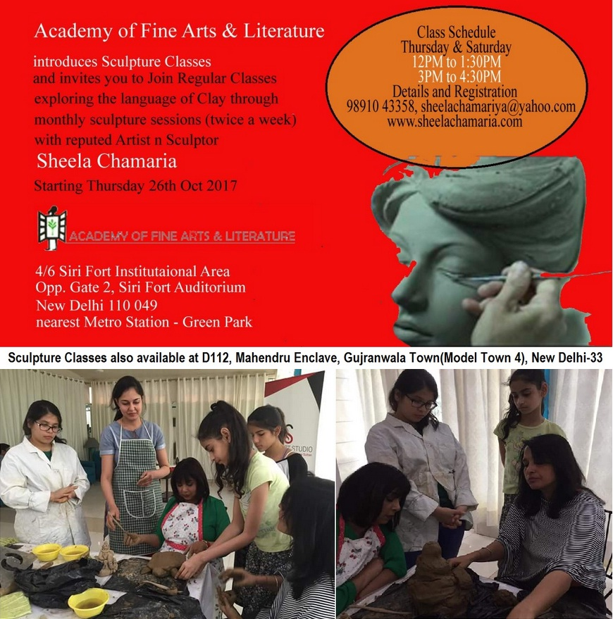 sculpture classes delhi