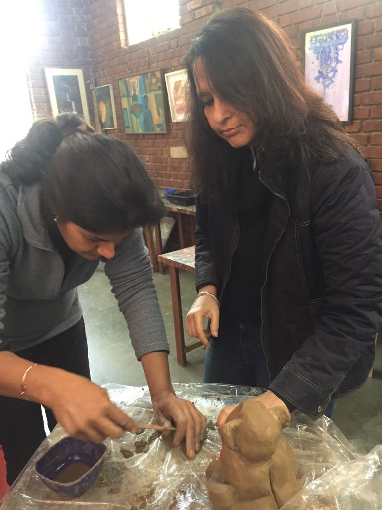 Sculpture Classes in Delhi