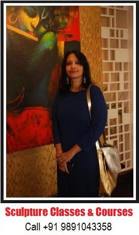 Sheela Chamaria | Indian Sculptor Artist | Sculpture Classes